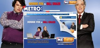 MEtime splash page